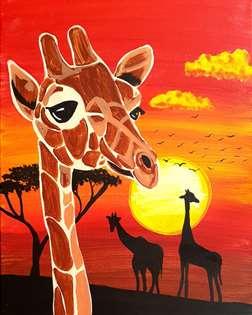 Savanna Giraffes
