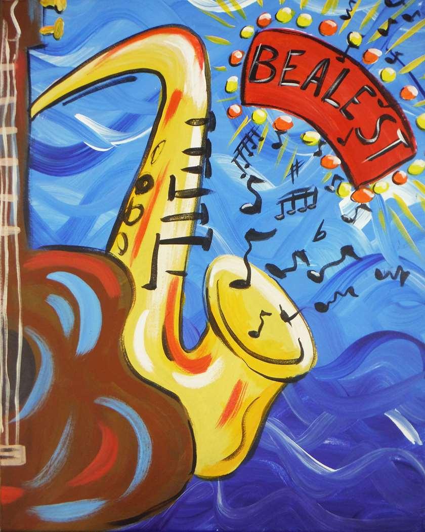 Saxy Beal Blues