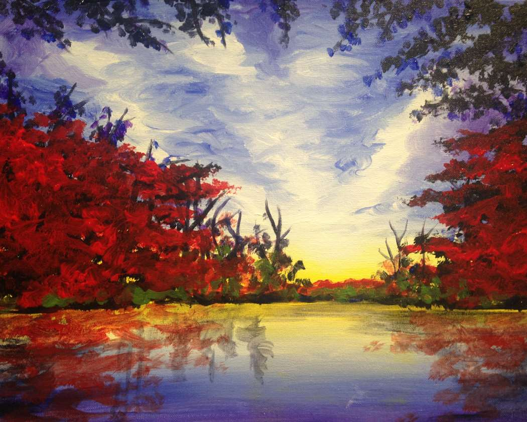 IN STUDIO CLASS: SCARLET AUTUMN - LIMITED SEATING