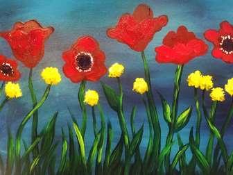 Scarlet Poppies