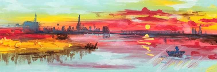 Scarlet Shoreline