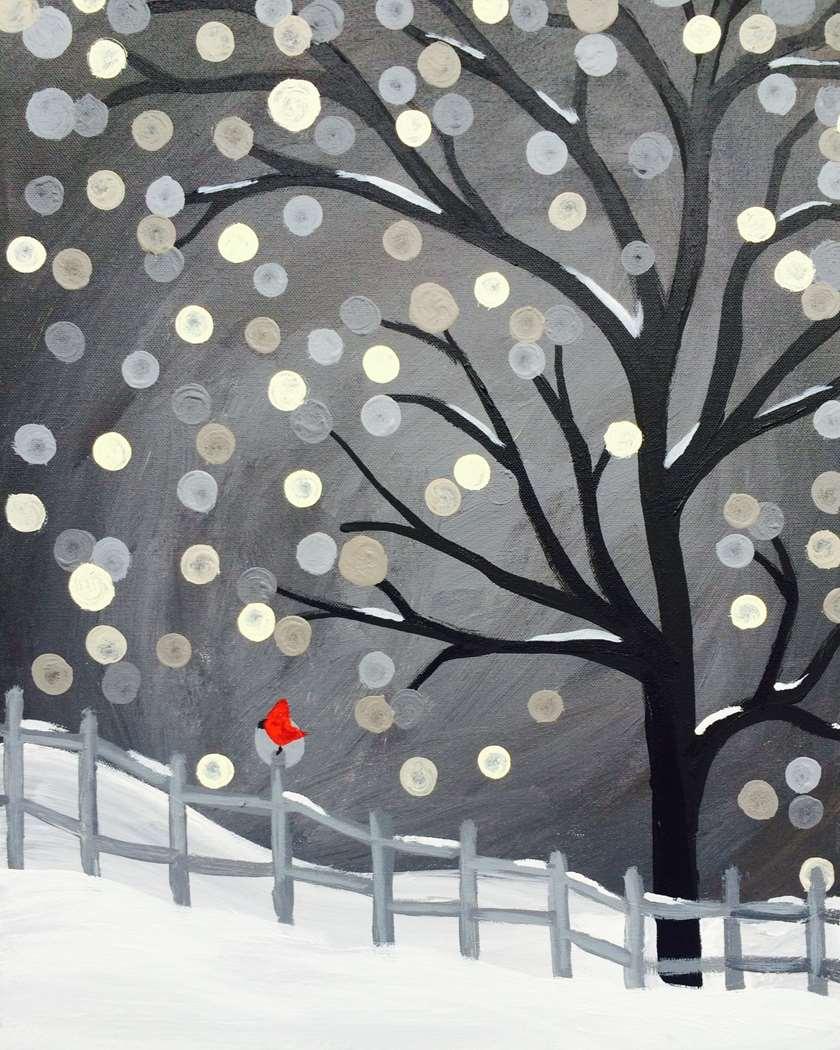 Wishful Snowfall- IN STUDIO CLASS!