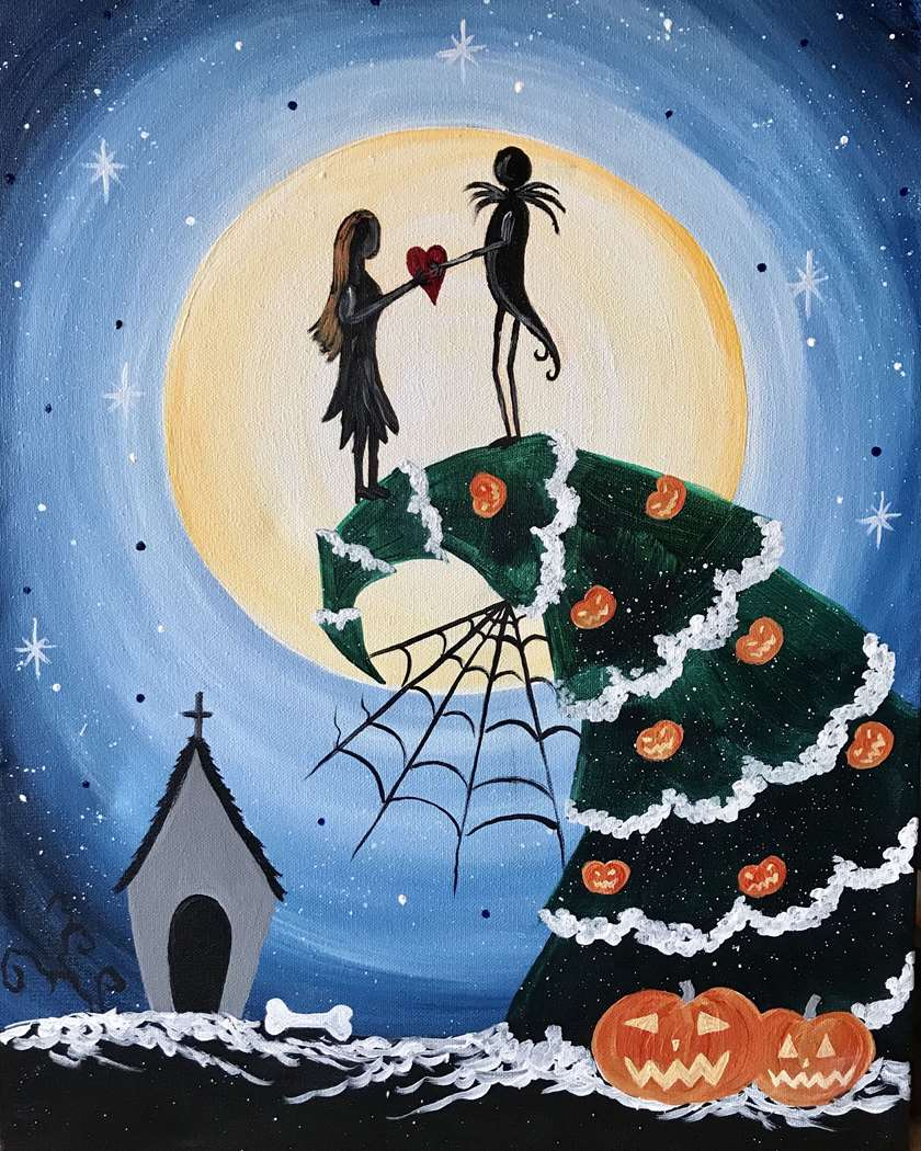 IN STUDIO CLASS: A SCARY CHRISTMAS - LIMITED SEATING