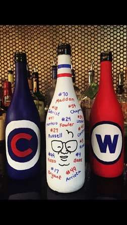 Score with a Cubs Triple