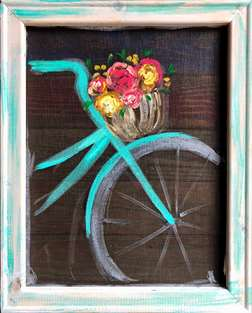 Screen Art - Bicycle