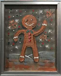 Screen Art - Hello Christmas