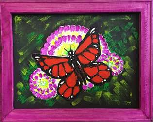 Screen Art - Suncatcher Butterfly