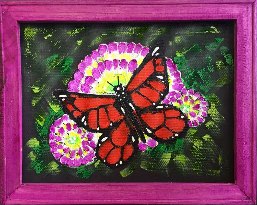 Screen Art - Suncatcher Butterfly