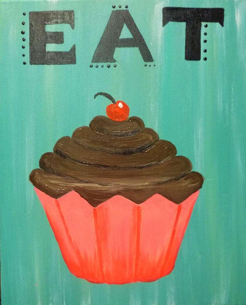 Scrumptious Cupcake