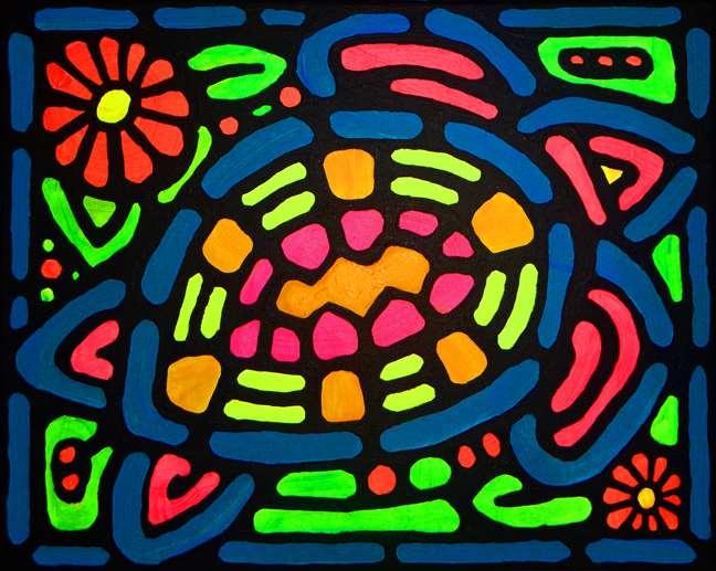 Sea Turtle Glow