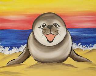 Seal you at the Beach
