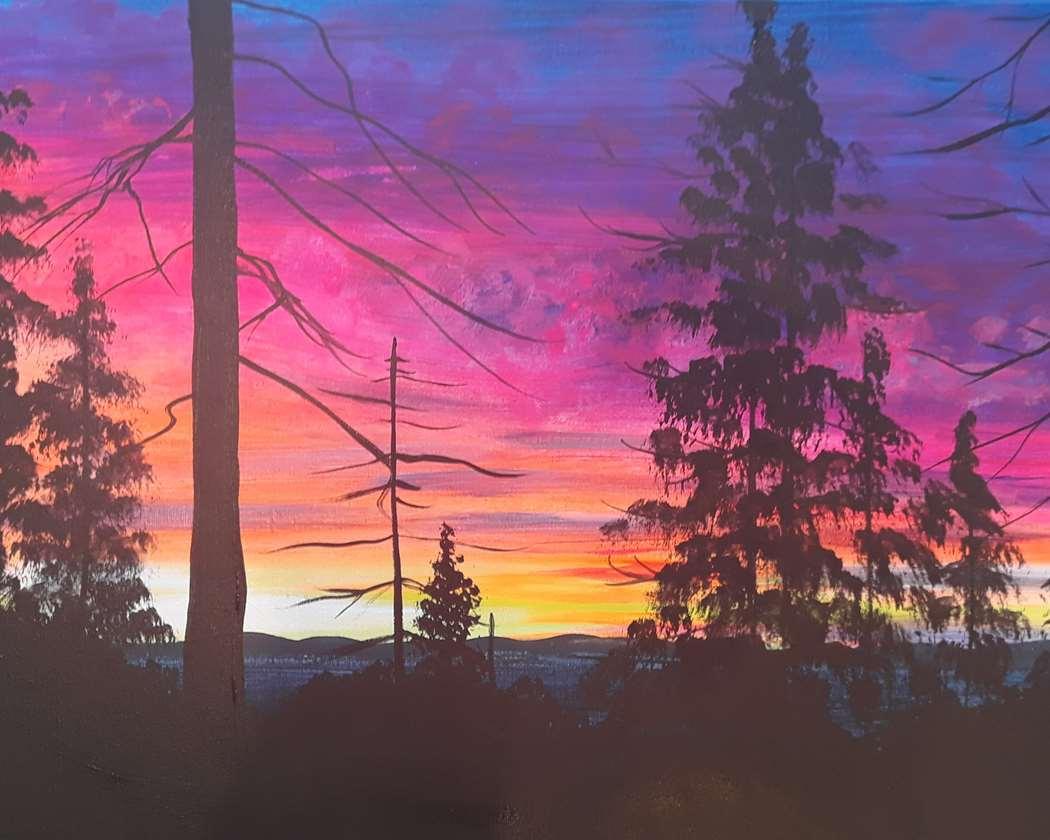 Sequoia Sunset