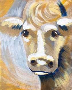 Serene Cow