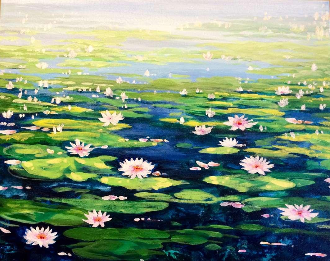 Serene Lilies