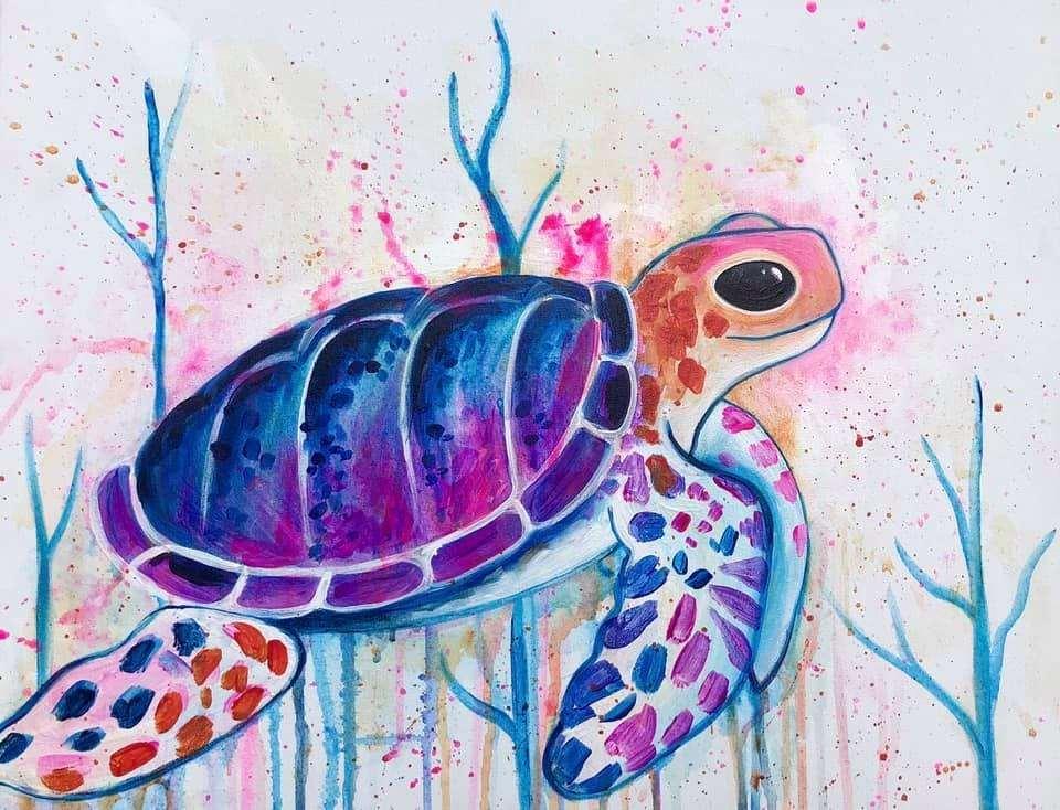 In Studio Event  - Serene Sea Turtle