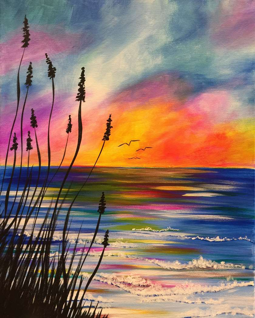 Serene Sunrise - In Studio - Very Limited Seating