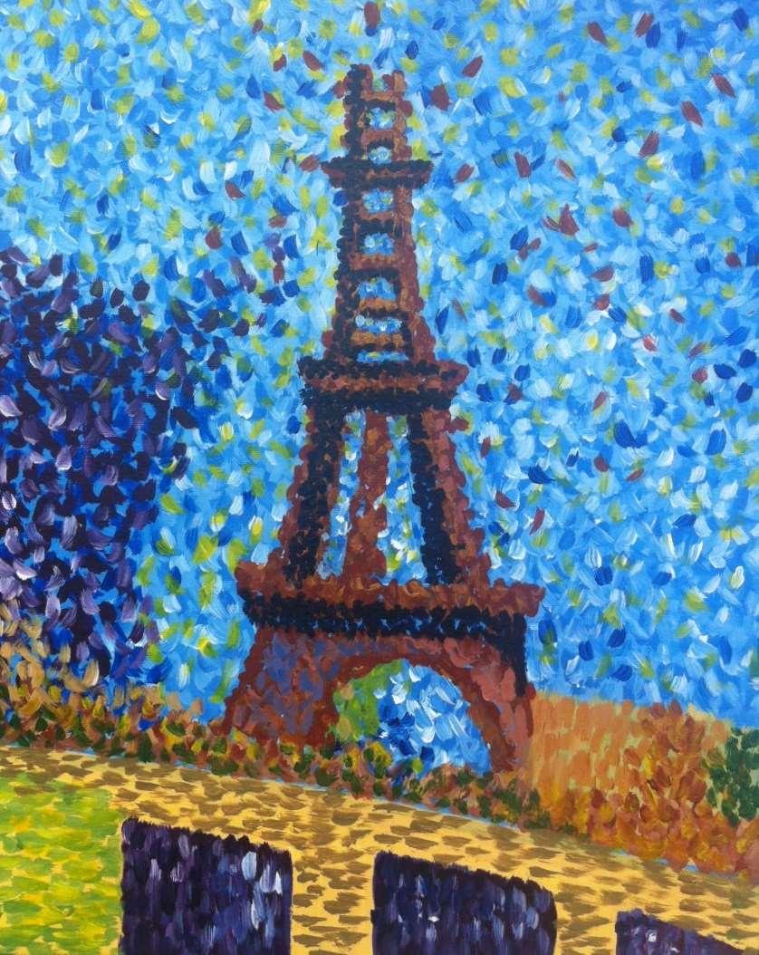 Seurat's Eiffel Tower