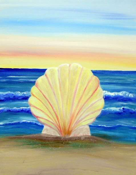 Shell at the Seashore
