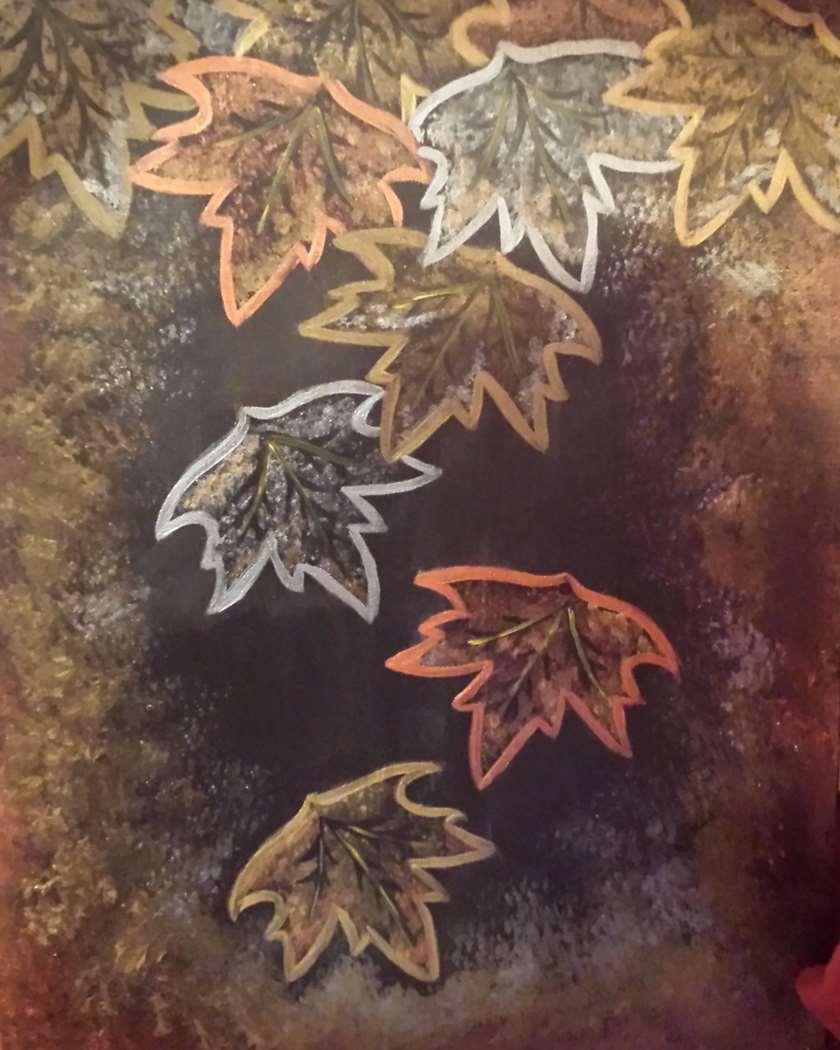 Shimmering Leaves