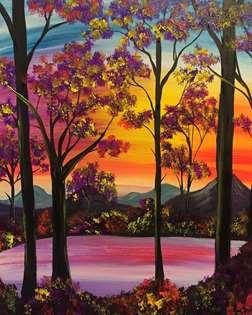 Shimmering Sunset