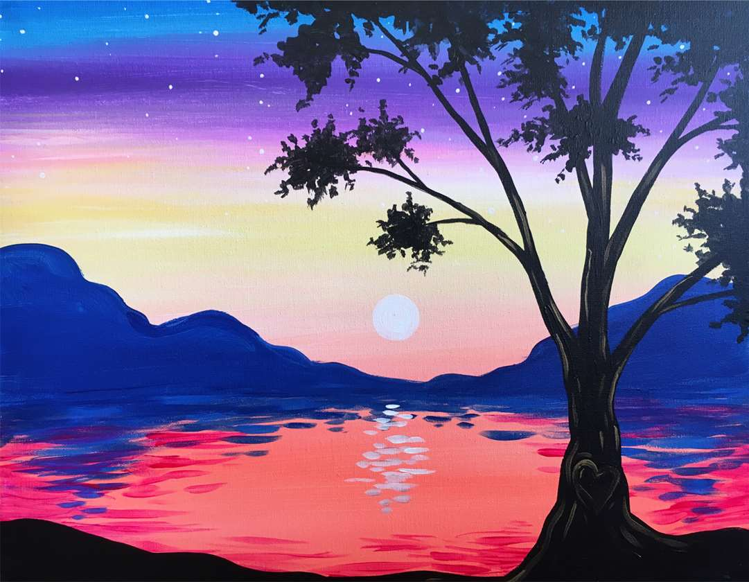 Shoreline Sunset - In Studio Event - Limited Seating Available