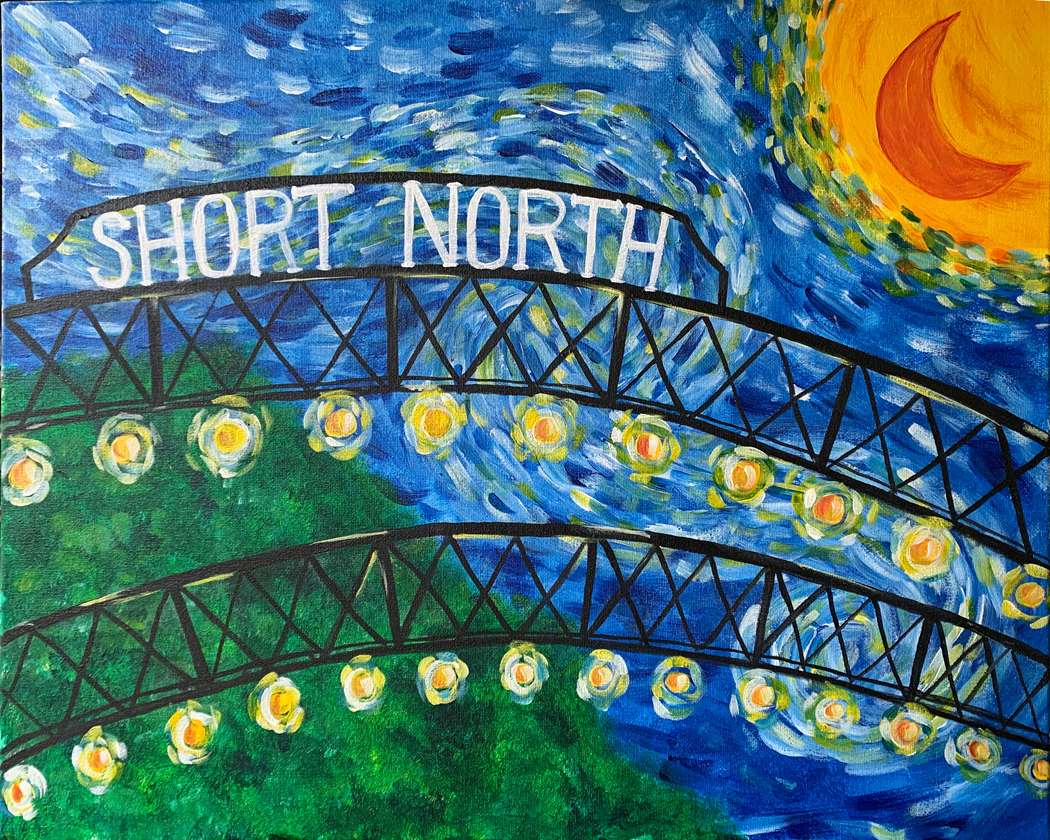 Short North Starry Night