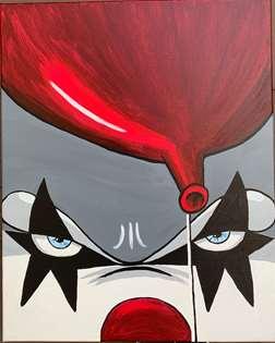 Simply Spooky Clown
