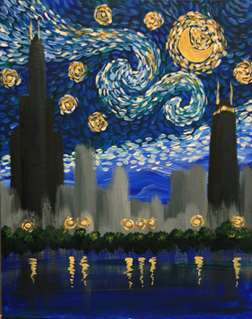 """Simply Starry Night """"Your City"""""""
