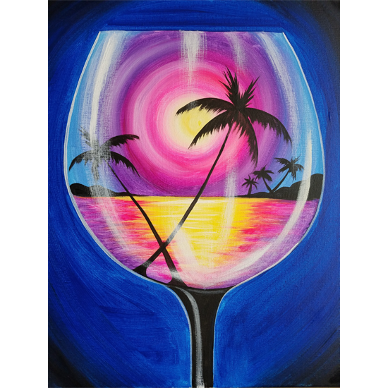 Sipping at Sunset