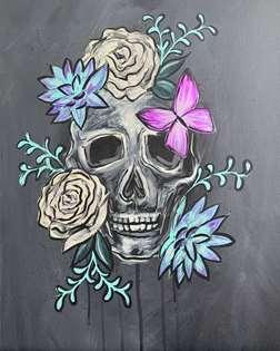 Skull in Bloom
