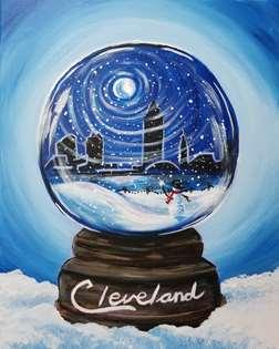 Skyline Snow Globe