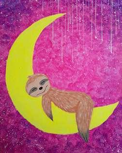 Sleepover on the Moon
