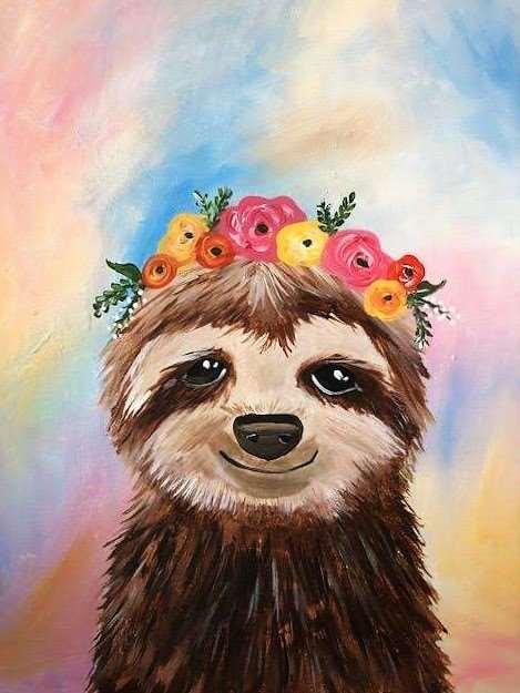 Sloth in Spring