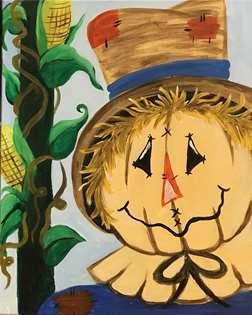 Smiling Scarecrow