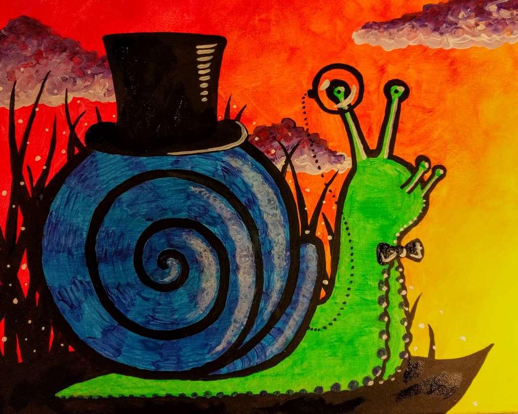 Snazzy Snail