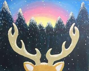 Snow Deer