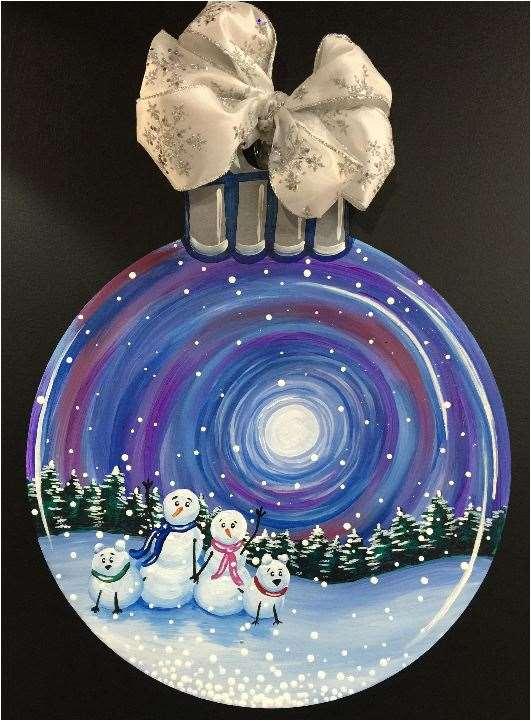 Snow Family Snow Globe - Ornament