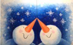 Snow kisses - virtual date night event