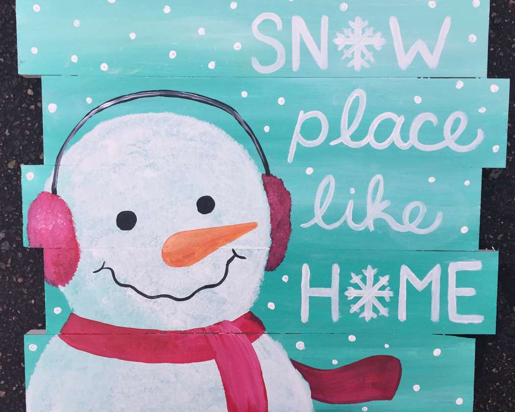 In Studio Event - Snow Place Like Home