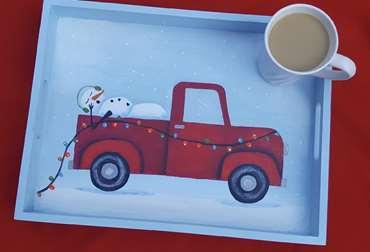 SnowFlake Express tray