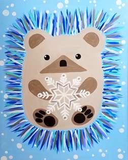 Snowflake Hedgehog