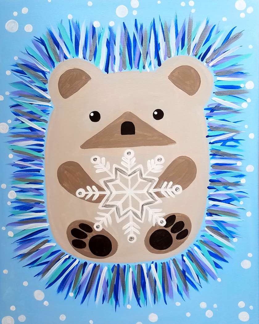 Snowflake Hedgehog - Family Day - ages 5 and up welcome, but everyone needs a reservation