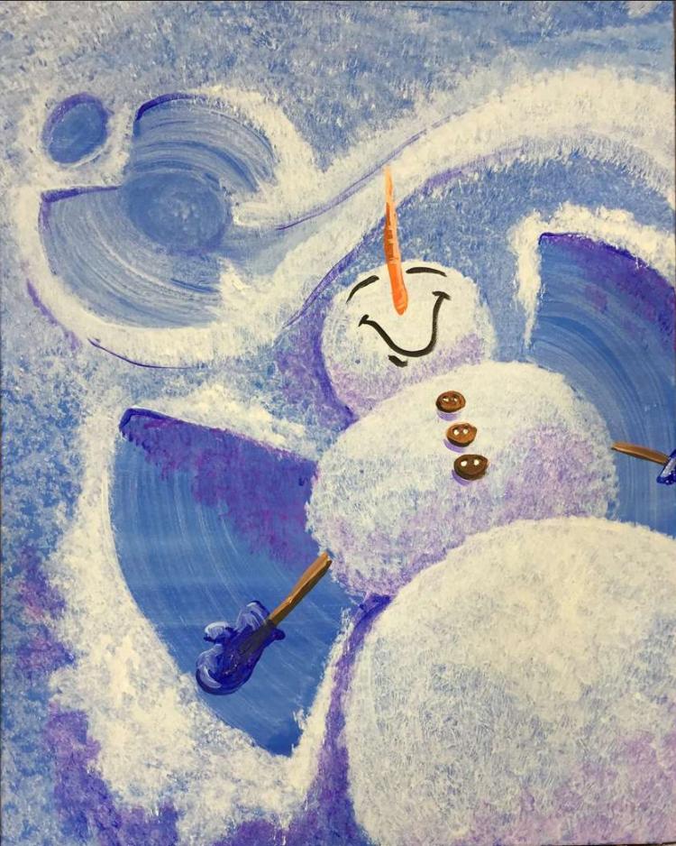 In Studio Event - Snowman Angels
