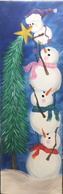 Snowman Tree Toppers