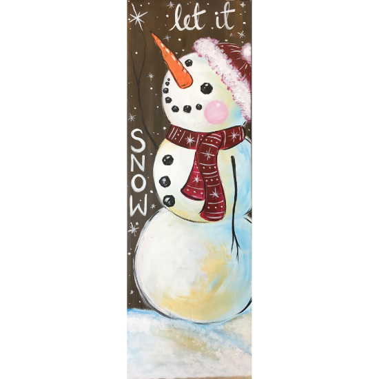 Snowman's Wish - In Studio Event - Limited Seating Available