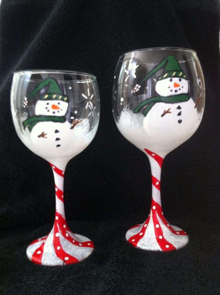 Paint a pair of snowman glasses !!  IN STUDIO EVENT - VERY LIMITED SEATING DUE TO SOCIAL DISTANCING