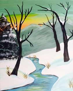 Snowy Bend