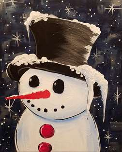 Snowy Gentleman