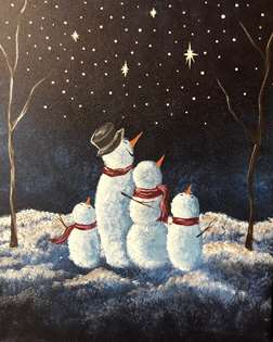 Snowy Stargazing