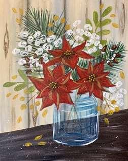 Snowy Winter Bouquet
